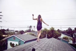 "Art Photograph ""Venice Beach Roof"""