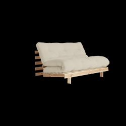 Sofa Bed Roots 140 | Raw/Beige