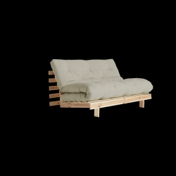 Sofa Bed Roots 140 | Raw/Linen