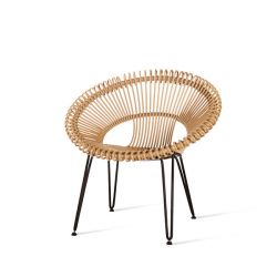 Outdoor Lounge Chair Roy | Camel