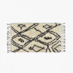 Teppich Alfombra Safro 90x150 | Schwarz