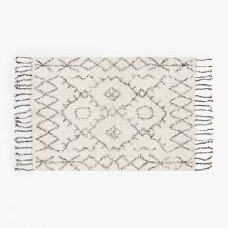 Teppich Alfombra Turco 200x300 | Weiß