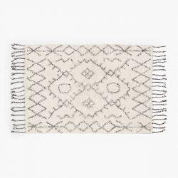 Teppich Alfombra Turco 60x90 | Weiß