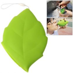 Reusable Drinking Cup Leaf | Green
