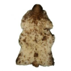 Unique Sheepskin | Brown Spots