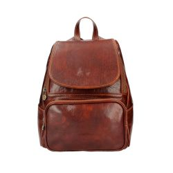 Unisex Backpack Zeffy | Brown