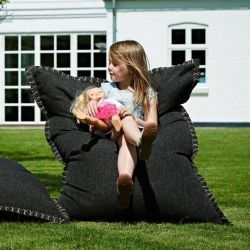 Beanbag SQUAREit Cobana Junior | Black
