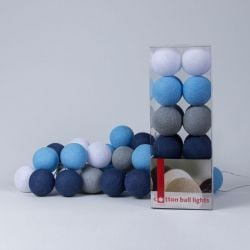 Lichtslinger Cotton Balls | Sailor Blue