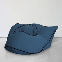 Floor Cushion Barnabé | Indigo Blue