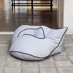 Floor Cushion Babylone | Light Grey