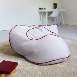 Floor Cushion Babylone | Parma & Red