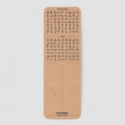Kyoma Instructional Yoga Mat | V2