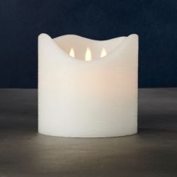 LED-Kerze Sara Exclusive | 3 Flammen