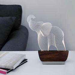 Tischlampe 'Rettet einen Elefanten'