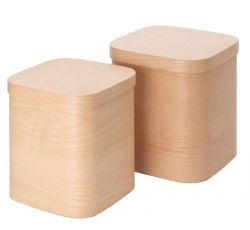 Square Box Scatole 80 | Naturel