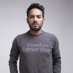 Claudios Barbershop Herren-Pullover