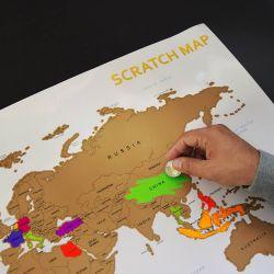 Scratchmap | Streichen Sie die besuchten Länder ab