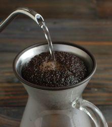 Langsamer Kaffeefilter