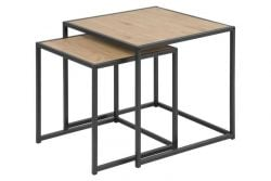 Mordo Coffee Table Set of 2 | Oak