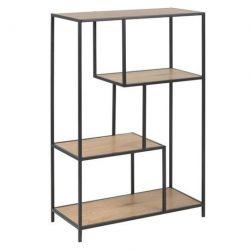 Bookcase Stanley | Oak / Black