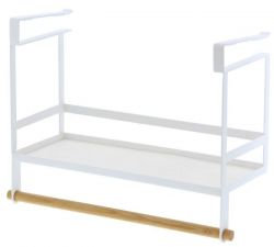 Under The Shelf Seasoning Rack Tosca | White