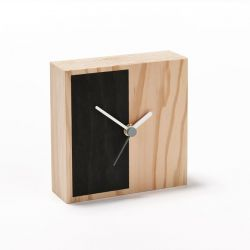 Horloge Secondary Half | Noir