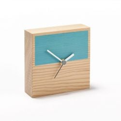 Horloge Secondary Half | Bleu