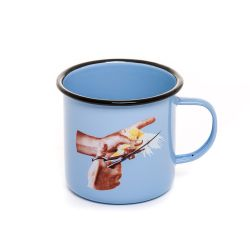 Enameled Mug | Bird