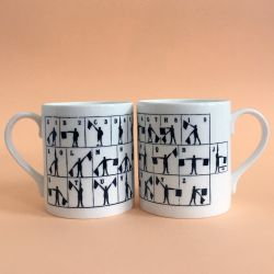 Semaphore Mug | Set of 2