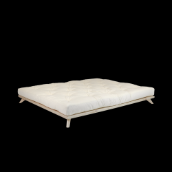 Bed Senza + Comfort Mattress | Naturel