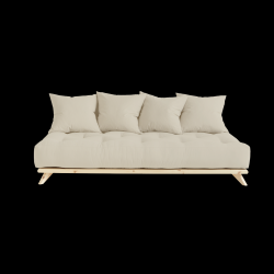 Sofa Senza | Natural Frame + Beige Mattress