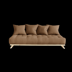 Sofa Senza | Natural Frame + Mocca Mattress