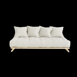 Sofa Senza | Natural Frame + Natural Mattress
