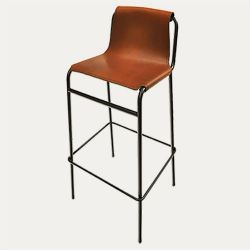 September Bar Stool Cognac