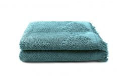 Guest Towel Bella 30 x 50 cm Set of 2 | Petrol