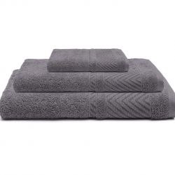 Bath Towel Dany | Grey | Set of 3