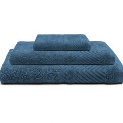 Bath Towel Dany | Blue | Set of 3
