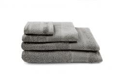 3-er Set Handtücher Gigi | Grau