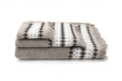 Towels Kendall Set of 3 | Taupe