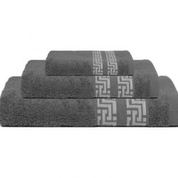 Bath Towel Tom | Dark Grey | Set of 3