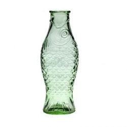 Glass Bottle Fish 1 L | Transparent Green