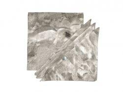 Set of 4 Cloth Napkins BEACH SAND