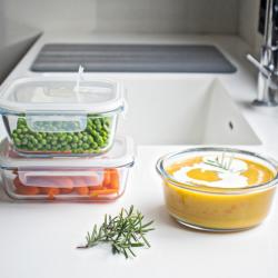 Lebensmittelvorratsbehälter | 3er-Satz