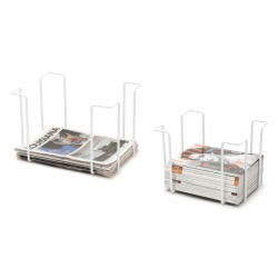 Set of 2 Racks | White