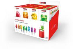 24-er Set Eis-Pop-Makers | Rot