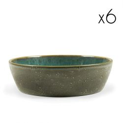 Bowl  Ø 18 cm Set of 6 | Green