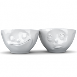 Set of 2 Medium Sized Bowls N°2 | White