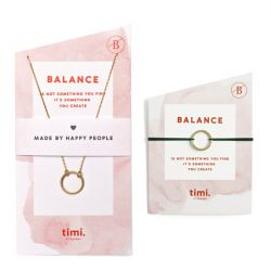 Necklace & Bracelet Balance | Gold