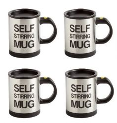 Self Stirring Mug | Set Of 4