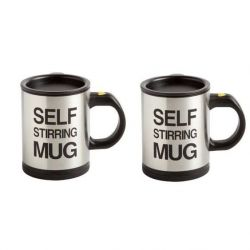 Self Stirring Mug | Set Of 2